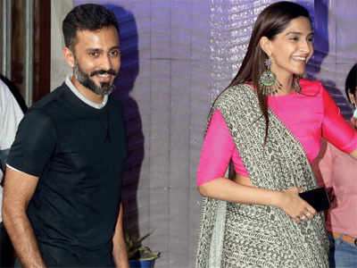Delayed honeymoon for Sonam Kapoor and Anand Ahuja