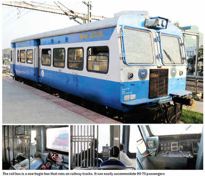 The nifty little rail bus will be a ride to remember