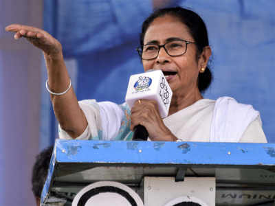 Mamata urges EC to review decision on transfer of 4 senior police officers
