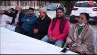 Uttarakhand: Former CM Harish Rawat meet locals, enjoys jalebi with the crowd