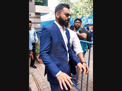 Team makes time for customised WC suit fitting during IPL
