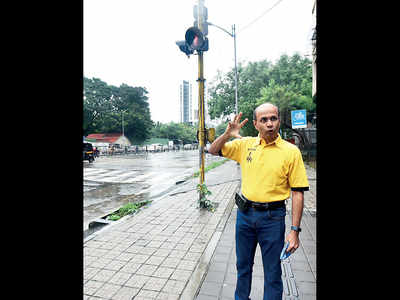 Pune finally has budget allotted for pedestrian signals
