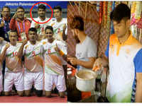 Plight of a winner: Asian Games bronze medalist sells tea for living