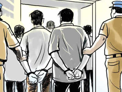 Eleven held for entering India illegally