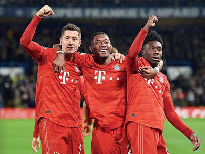 Bayern Munich delivers the blues