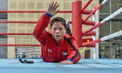 Mary Kom to hire male sparring partners if needed