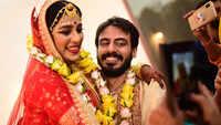 A Bengali and Punjabi wedding in Jaipur for TV actor Anmol Parnami