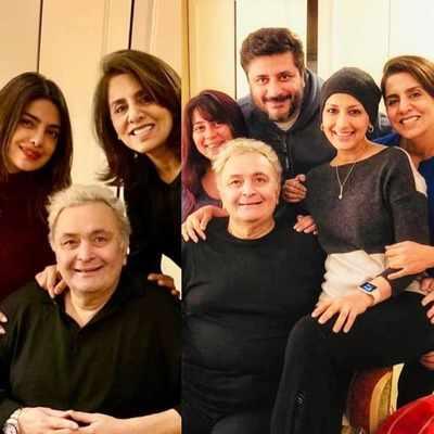 Anupam Kher, Rishi Kapoor, Priyanka Chopra and Sonali Bendre do a Bollywood reunion in New York