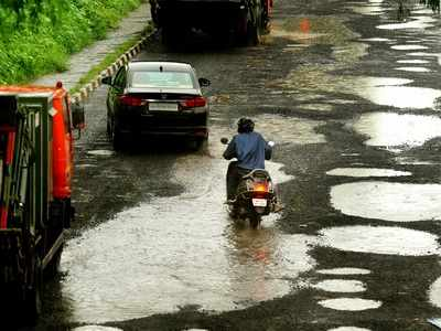 Photos: Roads full of potholes across Mumbai enrage commuters