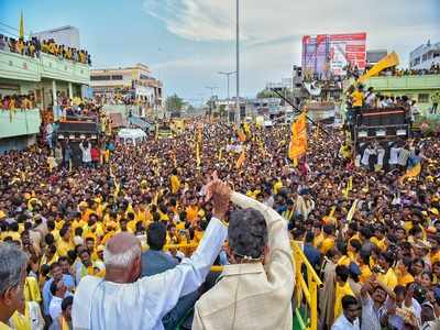 Election campaign ends in Andhra Pradesh, Telangana