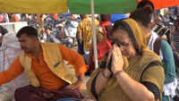 Prayagraj: Devotees take holy dip in Ganga on occasion of Buddha Purnima