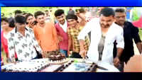 On cam: BJP youth wing member cuts cake with sword