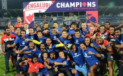 Bengaluru FC crowned I-League champions