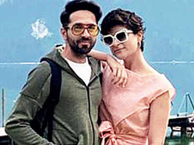Austrian holiday for Ayushmann Khurrana and wife Tahira Kashyap