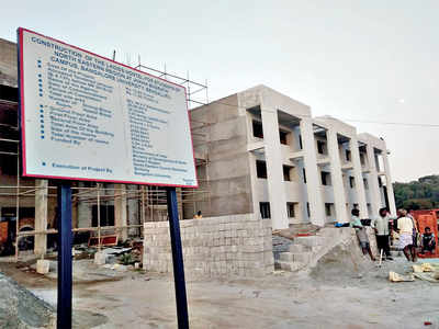 Bangalore University's hostel for female students from N-E states gets readied
