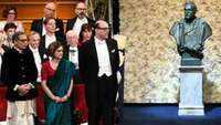 Abhijit Vinayak Banerjee receives Nobel in dhoti & punjabi, India cheers