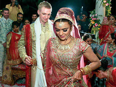 Starry Indian wedding