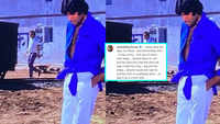 Amitabh Bachchan reveals that his iconic look from 'Deewaar' was a tailoring error, shares a throwback picture