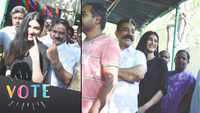 Lok Sabha polls: Kamal Haasan, daughter Shruti Haasan cast their votes in Chennai