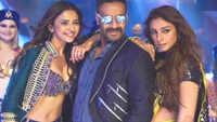 'De De Pyar De' song 'Hauli Hauli' features Rakul, Ajay, Tabu in party mood