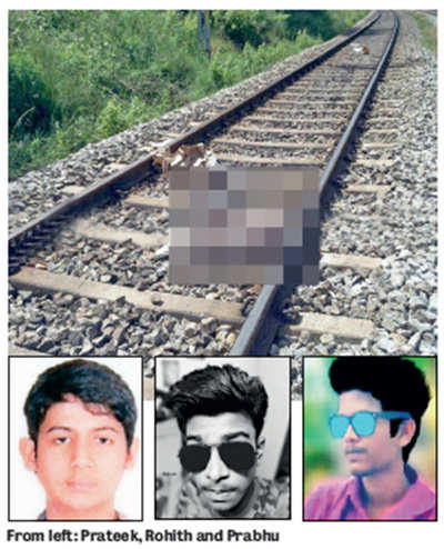 Selfie on the tracks proves fatal for three city students