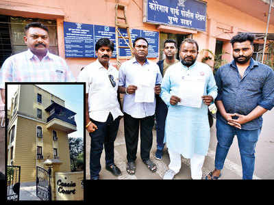 Developers cheat PMC staff of flats and cash