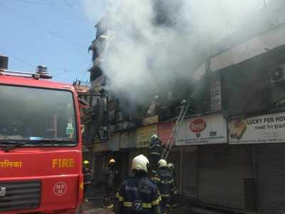 Fire breaks out at Crawford Market