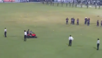 A bike ride gone horribly wrong for this Sri Lankan cricketer