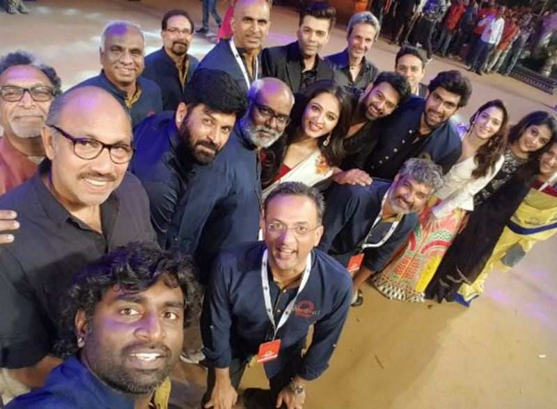In Pics: Candid moments from the pre-release event of Baahubali 2