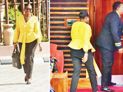 Tanzanian MP ousted from House over 'tight trousers'