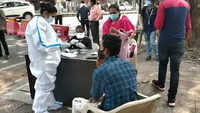 Covid-19: Nagpur police, NMC conduct Rapid Antigen Test drive