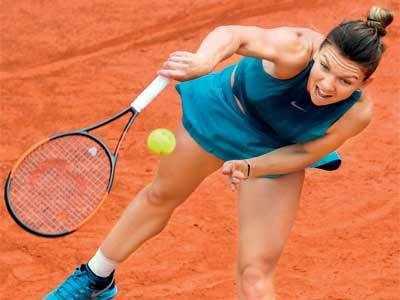 French Open: Simona Halep takes no Riske