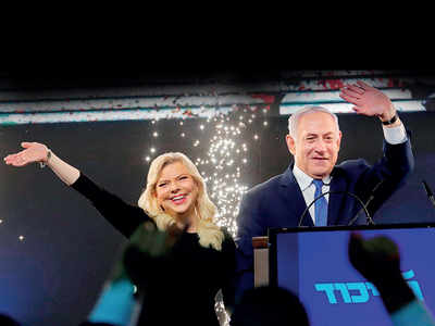 Netanyahu set to become Israel PM for fi fth time