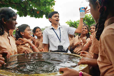 Mangaluru: 150 ml all it takes to wash your hands