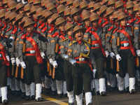 Women power, big guns among many firsts in R-Day parade