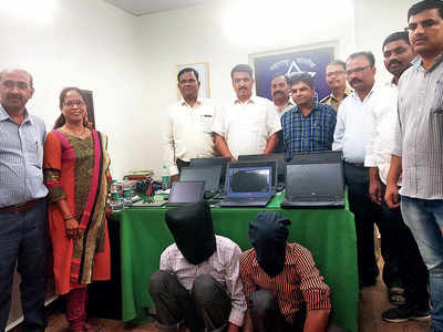 Police bust laptop theft racket; two brothers held