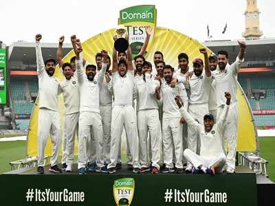 India under Virat Kohli's captaincy scripts history; claims first-ever Test series victory against Australia