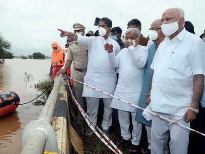 31,360 evacuated from flood-hit Belagavi, Uttar Kannada