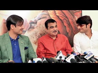 Gadkari releases new poster of PM biopic