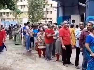 Watch: EVM glitches reported in Mumbai, other parts of the country