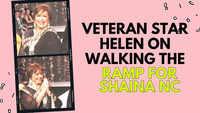 Helen on walking the ramp for Shaina NC