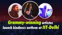 Grammy-winning artists launch kindness anthem at IIT-Delhi