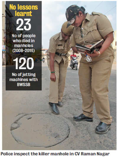 Manhunt after Sewer tragedy