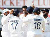 2nd Test: India thrash England to level Test series 1-1