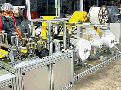 Made in Rajkot: Auto N-95 mask-making machine