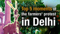 Tractor Rally: Top 5 moments of the farmers' protest in Delhi