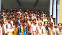 UP BJP MLA distributes party scarves to students, says 'act not part of membership drive'
