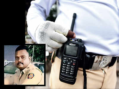 Police beat marshal suspended for losing his walkie-talkie set