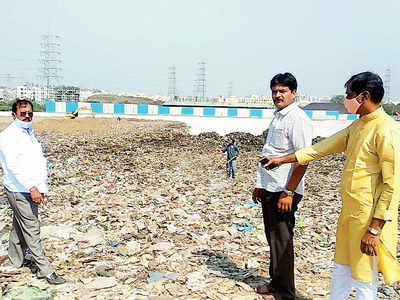 Uruli residents catch landfill being packed with wet, mixed waste