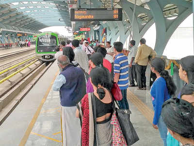Tracking Namma Metro's movements